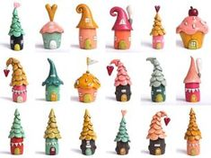 120 easy to try diy polymer clay fairy garden ideas (43)