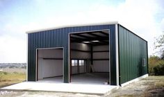 Steel Garages and Shops | SHOPS, GARAGES, RV BUILDINGS,MINI-STORAGE, and OTHER USES, Page 1