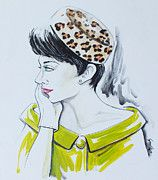 The Pillbox Leopard Print Classic by GG Burns, now on Fine Art of America