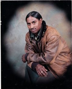 The beauty of a Native Black Apache indian,~~