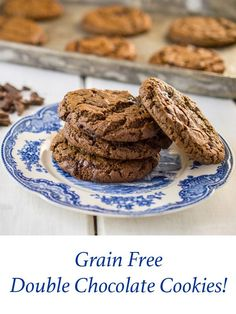 Grain Free, Nut Free, and Gluten Free. Made with tapioca flour, and coconut flour. They have a wonderful crispy outside and a chewy middle.