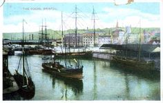 Bristol UK Postcards - The Harbour Bristol Harbour, Bristol Uk