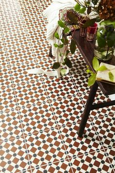 traditional floor tiles Sydney click now to see more. Floor Patterns, Wall Patterns, Ceramic Floor Tiles, Tile Floor, Ceramic Flooring, Warm Tiles, Sydney, Modern Flooring, Flooring Ideas