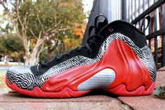 "NIKE Air Flightposite ""EXPOSED"""