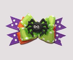 #BTQM282 - Mini Boutique Bow Itsy Bitsy Spider