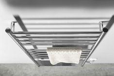 REDONDO Elektrický sušák ručníků s časovačem, kulatý, 600x1500 mm, 130 W, nerez : SAPHO E-shop Radiators, Soap, Bathroom, Washroom, Radiant Heaters, Full Bath, Bath, Bar Soap, Bathrooms