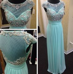 Backless Prom Dresses,Light Blue Prom Dress,Open Backs Prom Gown,Open Back Prom Dresses,Chiffion Evening Gowns,Open Backs Evening Gown,Homecoming dress