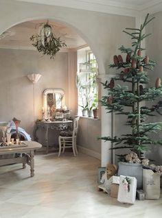 ♕ <3<3<3 this beautiful home @ Christmas