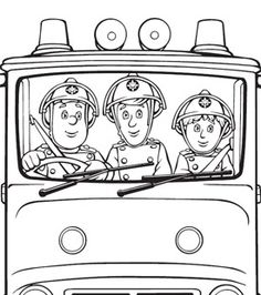 main image for the garbage truck coloring page coloring pages