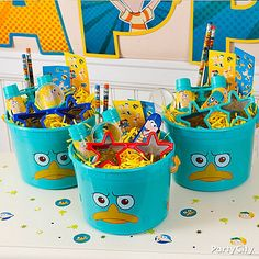 phineas and ferb crafts   Phineas and Ferb Party Ideas Guide - Party City