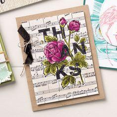 Floral Statements Clear-Mount Stamp Set