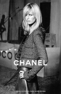 Karolina Kurkova for Chanel campaign   Photography by Karl Lagerfeld   Fall/Winter 2002