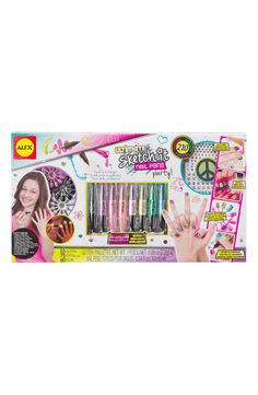 'Ultimate Sketch It' Nail Pens Party Kit