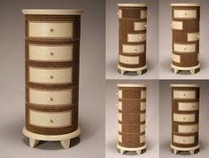 Corrugated Cardboard Furniture by Jason Schneider