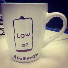 Um café para voltar a atividade, férias finitas! acesse www.diariodebordo.net.br #cafe #cafeina #feriasoff #go2015 #restart #low #bateria