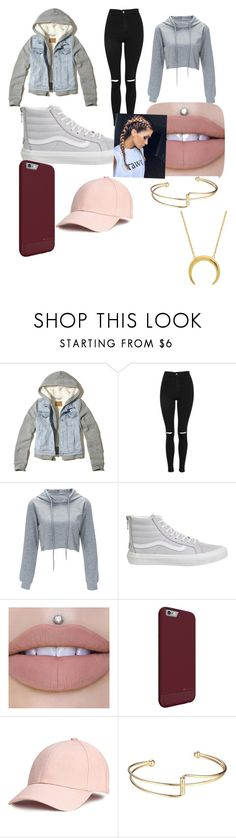 """""""Outfit based on cousin"""" by maddiegirl05 ❤ liked on Polyvore featuring Hollister Co., Topshop and Vans"""