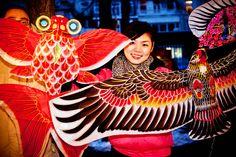 Kites at Chinese Newyear