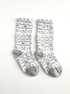 27dc1177d09 Baby and toddler knee high socks package of 2 Baby socks Boot Socks in  Aztec prints baby shower gif