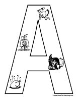 Thanksgiving Alphabet Letters Posters - Have Fun Teaching