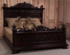 French Empire Panel Bed Master Bedroom Ideas