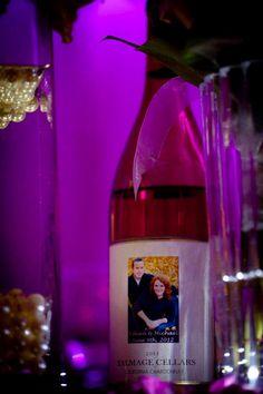 Custom wedding wine!