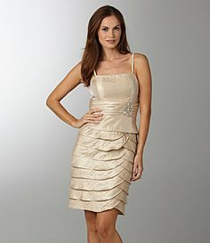 Champagne colored dress