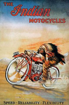 The Indian Motorcycles~Poster