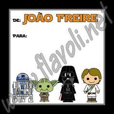 Etiqueta Star Wars 03  :: flavoli.net - Papelaria Personalizada :: Contato: (21) 98-836-0113 vendas@flavoli.net