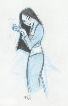 Disney Concept Art - Mulan