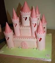 princess castle cake - Google Search
