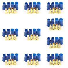 10X EC3 Male Female Bullet Connector Banana Head Plug For RC Lipo Battery