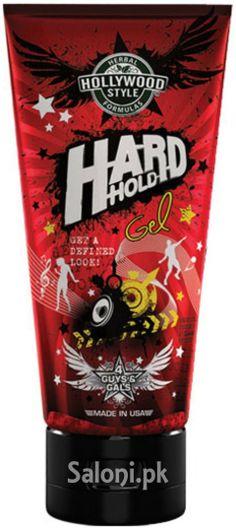 HOLLYWOOD STYLE HARD HOLD GEL 200 ML Saloni™ Health