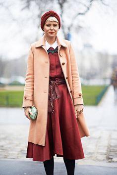 Elisa Nalin    Read more: Best Street Style of 2013 - Best Street Style Shots of 2013 - ELLE  Follow us: @ElleMagazine on Twitter | ellemagazine on Facebook  Visit us at ELLE.com