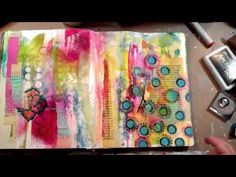 Julie Balzer Art Journaling Fast Forward