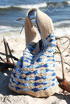 She Sells Sea Shells Crochet Bag By Justyna Lorkowska - Free Crochet Pattern - (ravelry)