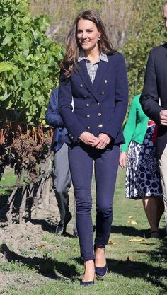 Denim outfit ideas from your favorite celebrities, including Kate Middleton