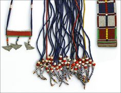 Traditional jewelry Maasai, Kenya and Oromo, Ethiopia