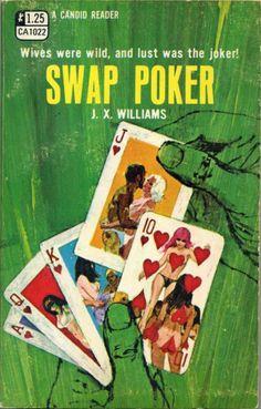 pinterest.com/fra411 #pulp - SNAP POKER (1970) #fiction #cover #art