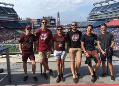 Game faces on for the Battle of the Bay State at UMass USA  regram from our exchanger @patty_baker13 #football #america #usa #umass #footy #nfl #sport #sports #friends #travel #travelgram #instatravel #explore #adventure #outdoors #fun #wanderlust #instagood #instamood #instadaily #picoftheday #photooftheday #traveler #traveling #travelblogger #traveladdict #campus #college #travelblog #vsco