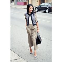 9to5Chic: Cropped via Polyvore