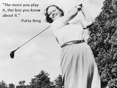Such a complicated game. Such a great game. At least we know clubs, so we can help you with that part when you shop 2nd Swing Golf! #GolfQuotes #Golf #Wisdom #GolfLegend #LPGA #2ndSwingGolf