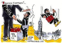 Carlos Lattuff On Manchester Attack.http://www.mintpressnews.com/comic/britains-freedom-fighters/
