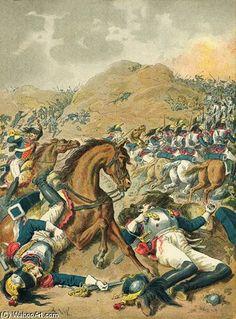 La bataille de Moscou de Frederic Theodore Lix (1830-1897, France)
