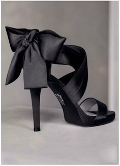 Black Bow - High Heel