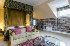 From charming themed bedrooms to four poster rooms, we're sure you'll be comfortable in our luxury Dalhousie Castle. Book your stay online and secure your stay in Scotland. Stay In A Castle, Four Poster Bed, Edinburgh Scotland, Bedroom Themes, Lord, Group, Luxury, Business, Beauty