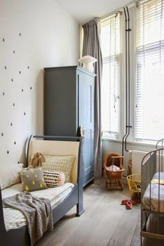 Gray Boys' Room Ideas 41
