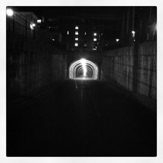 bus tunnel | Thayer Street | Providence, RI