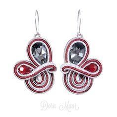 kolczyki soutache #trendy jesień / zima #earrings