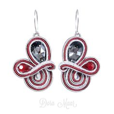 kolczyki soutache #trendy jesień / zima #earrings