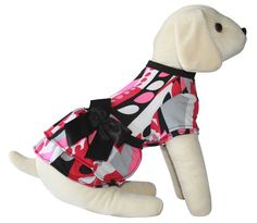 UP Collection The Mod Swirls Dog Dress ^^ Find out more details by clicking the image : dog clothes